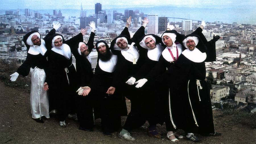 Celebrating Easter Sunday with a Radical Order of Drag Nuns Who Exorcised Trump