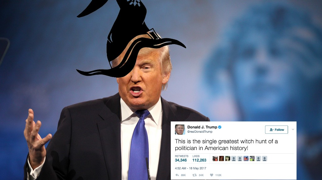 Actually, Trump Is a Witch Hunter, Says Male Witch Community